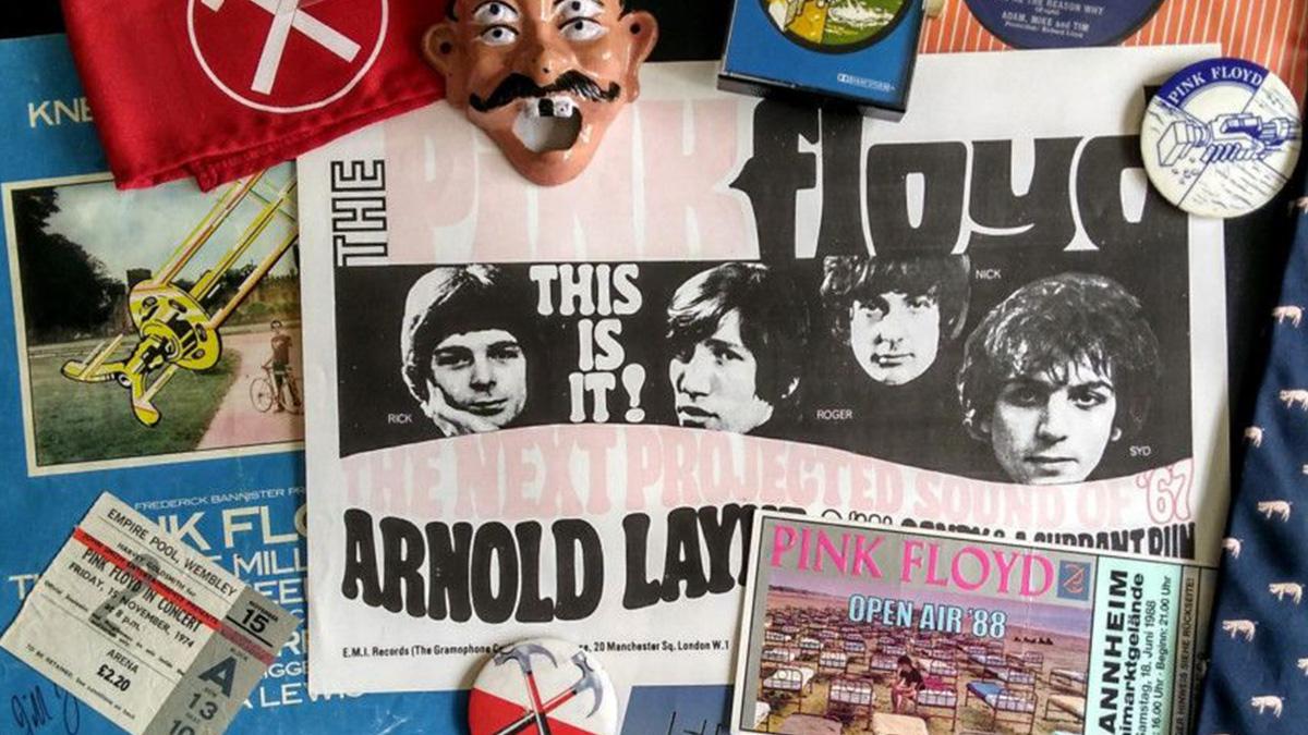 Bob Follen talks about his Pink Floyd exhibition 'Oink'